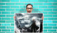 Final Fantasy vii cloud strife Art - Wall Art Print Poster Pick A Size -  Gaming Art Geekery